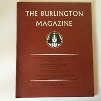 The Burlington Revista N º 774 Vol. Cix Septiembre 1967