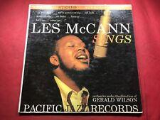 Q1-65 LES McCANN Sings .... PACIFIC JAZZ RECORDS ..., 1961