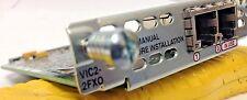 Cisco VIC2-2FXO, 2-Port Voice Fax Interface Card FXO Voice/Fax Module