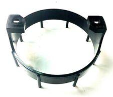 """Black Round Gauge Bracket 3-1/2"""" BC106B"""