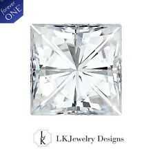 0.41 Ct Moissanite Forever One Square Loose Stone - 4.0 mm