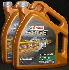 2x5 Liter Castrol EDGE FST TITANIUM 10W-60 Motoröl 10W60 VOLLSYNTHESE Motorenöl