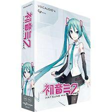 New!! Crypton Hatsune Miku V4X VOCALOID4 DVD Software Windows Mac from Japan