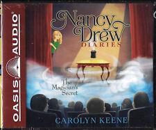 NEW Nancy Drew Diaries The Magician's Secret Caroly Keene Audio Book 8 CD Drama