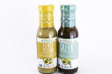 Primal Kitchen - Paleo Salad Dressing 2-Pack (Honey Mustard & Greek) - 8 oz Bott