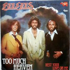 DISCO VINILE 45 GIRI BEE GEES TOO MUCH HEAVEN REST LOVE ITALY 1978