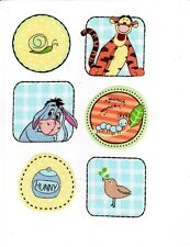 Disney pooh tigger eeyore bird hunny set nursery wall safe fabric decal cut out