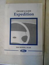 2000 FORD EXPEDITION FACTORY COMPLETE OWNERS MANUAL ORIGINAL OEM