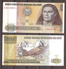 Peru - 1987 - Bankbiljet - 500 INTIS - UNC