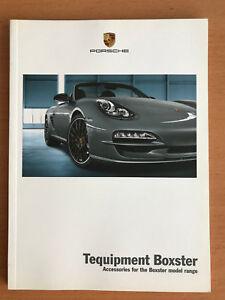 Porsche Boxster Tequipment Accessories Brochure 06 / 2012