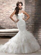 MAGGIE SOTTERO ADALEE WEDDING DRESS SIZE 6