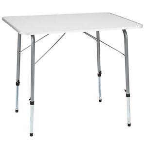 Campingtisch Klapptisch klappbar Wohnwagen Tisch Gartentisch höhenverstellbar