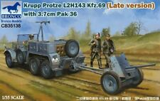 Bronco 1/35 German Krupp Protze Kfz.69 with 3.7cm Pack 36 (Late Ver.) CB35138