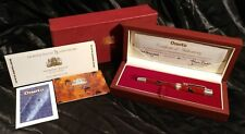 Onoto Royal Ballet 75th Anniv. LE#21/75 Sterling Trim Guilloche FP #7 on Nib
