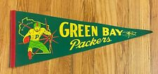 """Vintage Green Bay Packers Pennant Banner 29"""""""