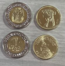 Egypt 2020 King Tut & Cleopatra Uncirculated Two Coins