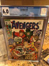 Avengers #79, CGC FN 6.0, Man-Ape, Lethal Legion, Black Panther, Vision