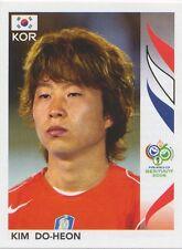 N°501 KIM DO-HEON # SOUTH KOREA STICKER WORLD CUP GERMANY 2006 PANINI