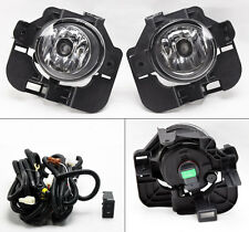 Front Bumper Clear Fog Lights Lamps Pair RH LH Fits Nissan Altima 2007-2012