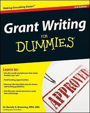 Grant Writing for Dummies by Beverly A. Browning (2008, Paperback)