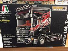 Scania 164L Topclass Truck Plastic Kit 1:24 Model 3922 ITALERI