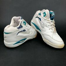 Vintage 1994 Air Conditioner Mens 6.5 Mid Top Aerobic White Blue Camouflage Shoe