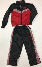 Nike Boys 2-Piece Tracksuit Jacket & Pants Set Outfit Sweatsuit Size 2T *