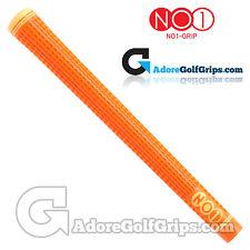 NO1 Grip 48 Series - Standard Size - Golf Grips - Orange / Light Orange x 1