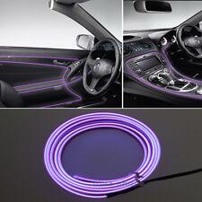 2M 12V EL Wire Purple Cold light Neon Atmosphere Unique Decor For Land Rover