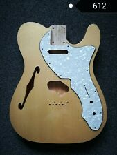 telecaster thinline semi hollow swamp ash body luthier parts