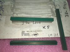 """AZM36DRAN, Card Edge Connector, 72 Position, 2 Rows, Right Angle, 0.156"""" Pitch"""