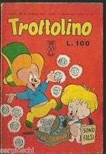 TROTTOLINO #  2-  FEBBRAIO 1964 - RARO- EDIZIONE BIANCONI  - CO1