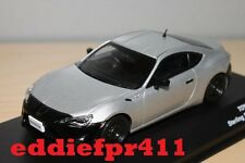 1/43 2012 TOYOTA 86 RC COUPE IN STERLING SILVER METALLIC BY J COLLECTION KYOSHO