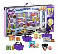 Shopkins Real Littles Super Glitter Collector  Box!!!!! 197 different Pieces