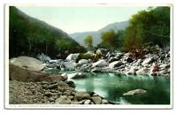 1911 Matilija Canon near Hot Springs, Ventura County, CA Postcard *4U