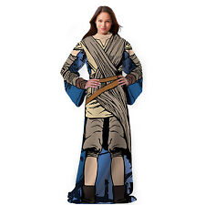 "Star Wars EP7 ""Jakku Rey"" Comfortable Adult Snuggy Blanket w/Sleeves 48'' x 71''"