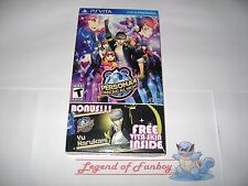 * New * Sealed * Persona 4 Dancing All Night  Sony PlayStation Vita + Free Skin