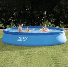 Intex 15ft X 33in fácil configuración inflable niño piscina con bomba de filtro de 530 litros por hora