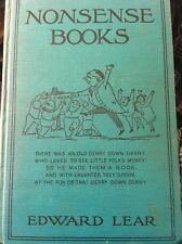 Nonsense Books ~ 1888 ~ Edward Lear, Roberts Brothers Publisher