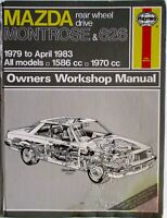 Haynes - Mazda Montrose & 626 Owners Workshop Manual - Used Condition - T48