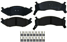Disc Brake Pad Set-Ceramic Disc Brake Pad Front ACDelco Pro Brakes 17D524CH