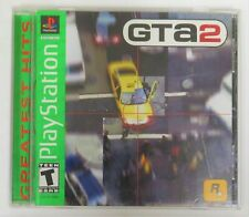 Grand Theft Auto 2 PlayStation Ps1 Complete with Manual and Map Free Shipping