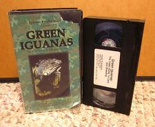 Green Iguanas owners instruction Pet Care & Breeding Lizard habitat & diet Vhs