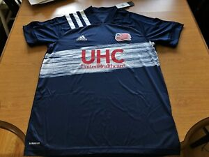 NWT adidas Men's New England Revolution '20 Primary Replica Jersey Size Large