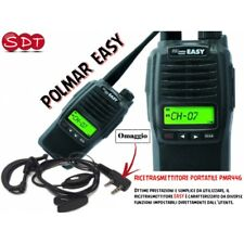 POLMAR EASY PMR446 UHF PORTATILE VERSIONE 5 WATT + MICRO/AURICOLARE