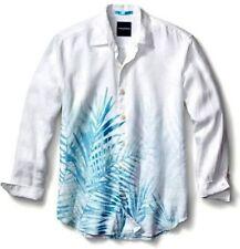 Tommy Bahama Fo' Rio Fronds 100% Linen Shirt 2XT NWT Long Sleeve Maui Blue $148