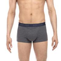 HOM underwear Cayan Boxer Briefs HO1, 2-Pack Men's Trunks boxer shorts  Grey