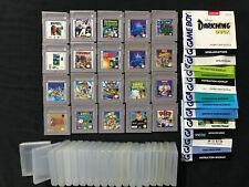 NINTENDO GameBoy Spiele + Spielanleitungen (zur Auswahl) TEIL 1