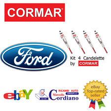 KIT 4 CANDELETTE FORD C-MAX II 2.0 TDCI 85KW 115CV DAL 2011 -> GE121