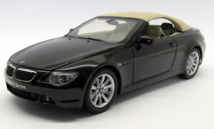Kyosho 1/18 Scale Die-Cast - 08702BK BMW 645Ci Cabriolet Black